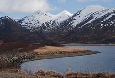 Koning Cove Alaska royalty-vrije stock afbeeldingen