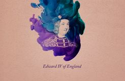 Koning Edward IV van Engeland royalty-vrije illustratie