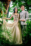 Koning en Koningin Stock Foto's