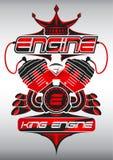Koning Engine Stock Afbeelding