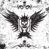 Koning Gangster Insignia vector illustratie