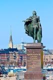 Koning Gustav III Royalty-vrije Stock Foto