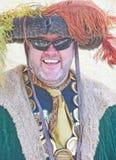 Koning Henry achtste bij Kasteel Banff Stock Afbeelding
