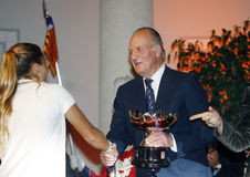 Koning juan Carlos Royalty-vrije Stock Foto