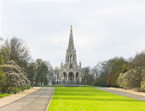 Koning Leopold I Monument Brussel Stock Afbeelding