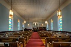 Koning Memorial Baptist Church Royalty-vrije Stock Foto's