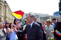 Koning Mihai I van Roemenië (11) Stock Foto's
