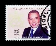 Koning Mohammed VI, serie, circa 2001 Royalty-vrije Stock Foto