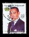 Koning Mohammed VI, serie, circa 2001 Royalty-vrije Stock Afbeelding