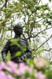 Koning Monument Koa HinLekFire stock foto's