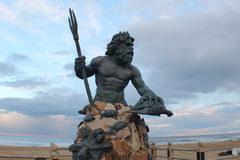 Koning Neptunus Royalty-vrije Stock Afbeeldingen
