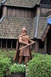 Koning Olaf II Haraldsson in Epcot stock fotografie