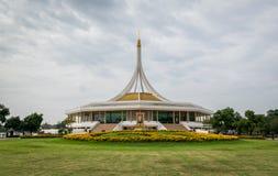 Koning Rama IX park of Suanluang RAMA IX in het aardpark Bangkok, Thailand stock foto