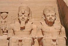 Koning Ramses II royalty-vrije stock foto