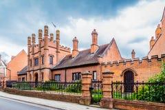Koning ` s Lynn, Norfolk, Engeland, 16 Juni, 2016: Burkitthuizen Royalty-vrije Stock Foto