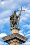 Koning Sigismund III Vasa - Warshau Royalty-vrije Stock Afbeelding