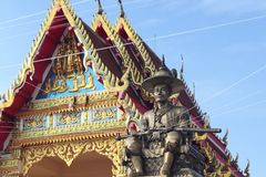 Koning Taksin Groot in Pattani-provincie, Thailand stock foto's
