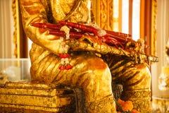 Koning Taksin Statue Royalty-vrije Stock Foto