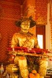Koning Taksin Statue Stock Afbeeldingen