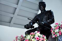 Koning Taksin Statue Royalty-vrije Stock Foto's