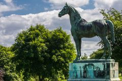 Koning Tom bij Dalmeny-Huis Edinburgh, Schotland, het UK stock afbeeldingen