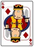 Koning van Diamanten Royalty-vrije Stock Fotografie