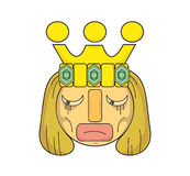 Koning van droefheid Stock Afbeeldingen