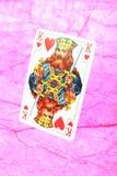 Koning van harten Stock Afbeeldingen