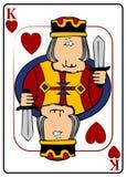 Koning van Harten vector illustratie