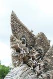 Koning van naga of serpentstandbeeld Stock Afbeeldingen