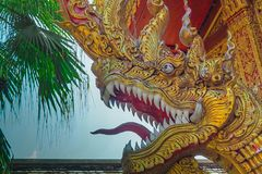 Koning van Nagas Royalty-vrije Stock Foto's