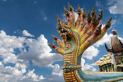 Koning van Nagas Stock Fotografie