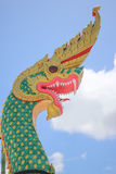 Koning van Nagas op de hemel Stock Fotografie