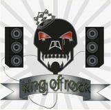 Koning van rots Royalty-vrije Stock Foto