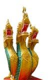 Koning van standbeeld Naga Stock Foto