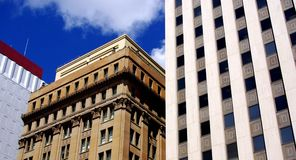 Koning William Street Buildings Stock Fotografie