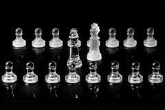 Koningen in onderhandeling royalty-vrije stock afbeeldingen