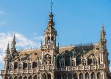Koningenhuis en Museum van de Stad in Brussel Stock Afbeeldingen