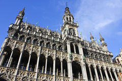 Koningenhuis in Grand Place, Brussel Stock Foto