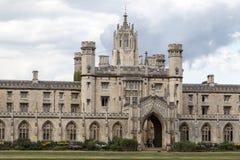Koningenuniversiteit Cambridge Engeland Royalty-vrije Stock Afbeelding