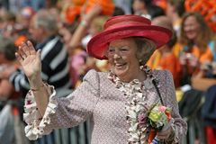 Koningin Beatrix Royalty-vrije Stock Fotografie