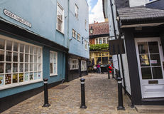 Koningin Charlotte Street in Windsor Stock Foto's