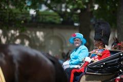 Koningin Elizabeth Stock Afbeeldingen