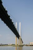 Koningin Elizabeth Bridge Stock Foto