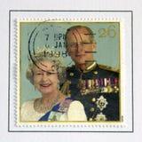 Koningin Elizabeth en Prins Philip Royalty-vrije Stock Fotografie