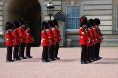Koningin Guard Royalty-vrije Stock Foto