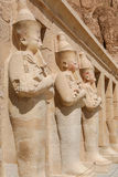 Koningin Hatshepsut Temple, Cisjordanië van de Nijl, Egypte royalty-vrije stock afbeeldingen