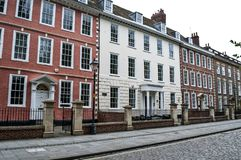 Koningin Square, Bristol, het UK royalty-vrije stock afbeeldingen