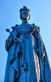 Koningin Statue Victoria Canada Royalty-vrije Stock Foto's