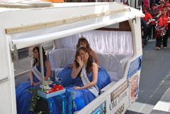 Koningin van Carnaval, Hastings Royalty-vrije Stock Foto